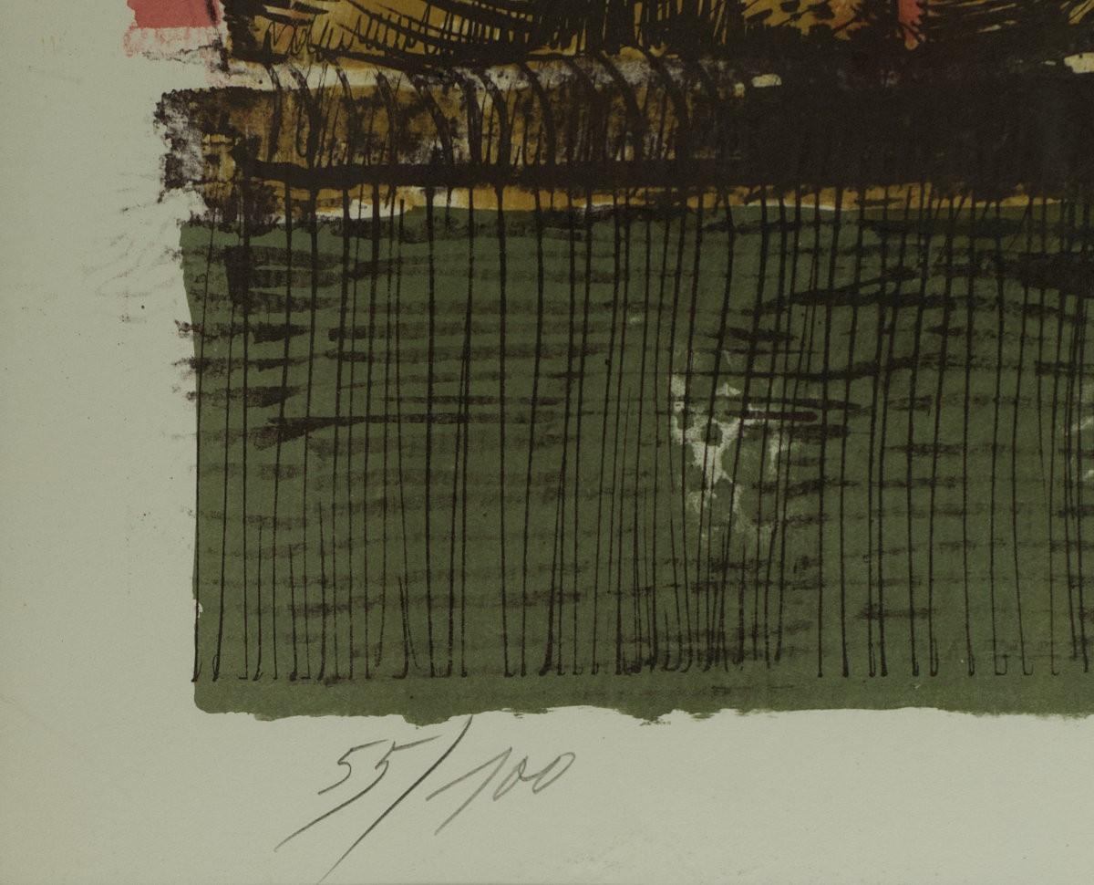 """Ilustracja do """"Folwarku zwierzęcego"""" George'a Orwella"""