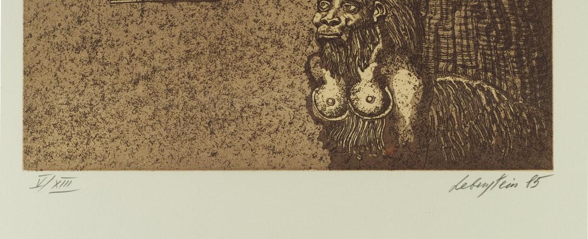 Kobieta, sfinks i obelisk