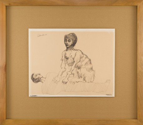 Autoportret ze Sfinksem