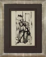 Figura siedząca